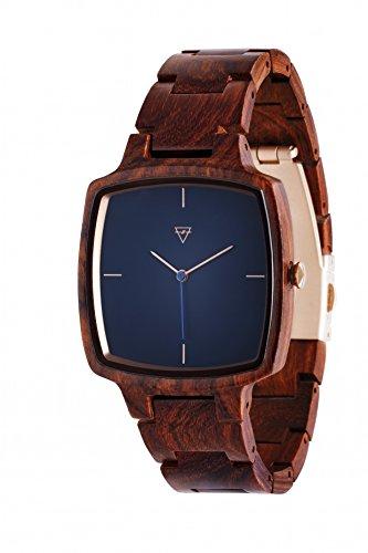 Kerbholz Herren-Armbanduhr Hans