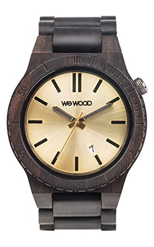 WeWood Arrow Black Gold Herren-Holzuhr