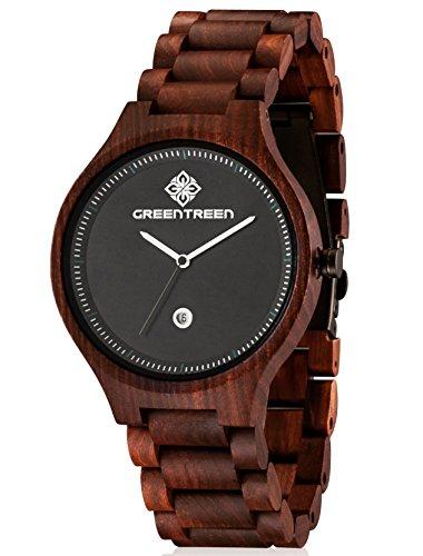 Greentreen Sandelholz Armbanduhr