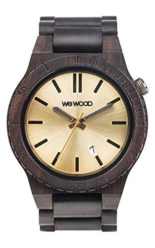 WeWood Arrow Black Gold Herren-Holzuhr WW31003