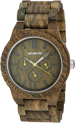 WEWOOD Quarzuhr Kappa Army WW15002
